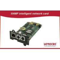 Buy cheap SNMP card UPS Accessories benefit for automatization and network management product
