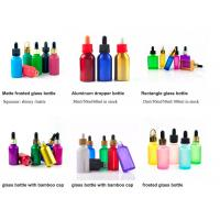 Buy cheap 1oz 50ml Cosmetic Glass Bottles With Glass Pipette For Essential Oil  OEM product