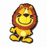 Buy cheap 3-D fridge magnet, made of safe PVC rubber, OEM orders are welcome product
