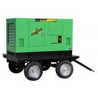 China Mobile Portable Enclosed Trailer Generator 8 - 1000KW 50Hz / 60Hz Water Cooled on sale