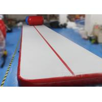 Buy cheap Safety Inflatable Air Tumble Track DWF / Drop Stitch Material For Gymnastics product