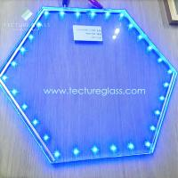 Buy cheap Tecture luminous LED laminated glass power glass product