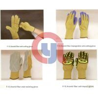 Buy cheap Customized Color Anti Cut Gloves Aramid Materials For Rescue And Relief Work product