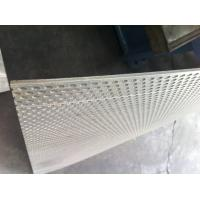 Buy cheap thick Punched Stainless steel / Brass Perforated Metal Panels With round Hole product