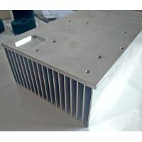 Buy cheap 6061 T6 Rectangular Aluminum Heat Sink Extrusion For CNC Equipment Use product