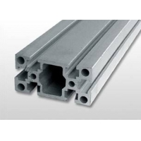 Buy cheap 40 X 40 Slotted Anodised Aluminum Assembly Line Extrusions product