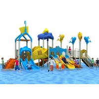 Buy cheap Water Theme LLDPE Indoor Water Play Equipment With Golden Flower product