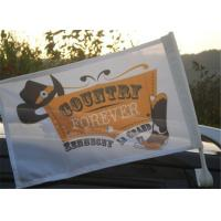 Buy cheap Outdoor Automotive Car Advertising Flag Banners With Pvc Plastic Pole product