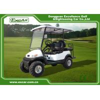 Buy cheap White 2 Seater Beach Electric Hunting Buggy With Trojan Battery from wholesalers