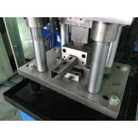 Quality 1.0 - 1.6mm Guardrail Roll Forming Machine 14 stations By Chain for sale