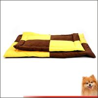 Buy cheap pet beds for dogs direct factory Short plush Silk floss cheap dog bed china factory product
