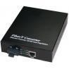 Buy cheap 9k Byte Data Packet Opitc Fiber Media Converter , SFP To RJ45 Converter product