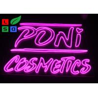 Buy cheap DC12V Voltage Pink Color Dual Lines Customized Made LED Neon Sign For Interior from wholesalers