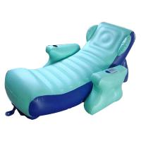 Buy cheap Eco-friendly PVC Inflatable Water Sofa Bed , Advertising Inflatable Floating Sofa product