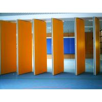 Buy cheap Aluminium Frame Restaurant Movable Partition Walls , Multi Color Soundproof from wholesalers