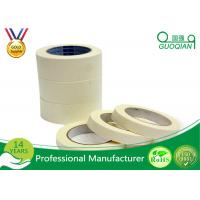 Buy cheap Silent Colored Masking Tape , High Temp Masking Tape Painting White Color product