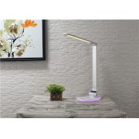Quality Decorated bedside led sensor wireless charging lamp with RGB colorful nightlight for sale
