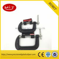 Buy cheap Red / Black  G Clamp for Heavy Duty Wood Working with  45 carbon steel,Machinist measuring tool product