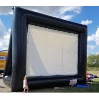 Buy cheap Outdoor Theater Screen Inflatable Cinema Screen Portable Projection Screen product