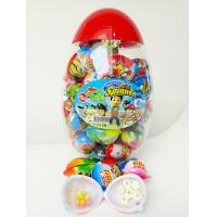 Buy cheap Toy Egg Candy Happy Egg Multi Fruit Flavor Candy Jelly bean With Lovely Mini Spinner Toy candy product