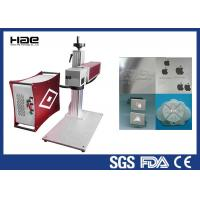 Buy cheap 30w 50w 100w Color Fiber Laser Marking Machine On Jewelry / Ring Watch Enlosed from wholesalers