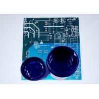 Buy cheap 8µM Fineness Etch Resist Ink , Blue Color Liquid Photoimageable Solder Mask product
