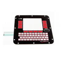 Buy cheap Stainless Steel Dome 3M Adhesive Membrane Switch Keyboard For Home Appliance product