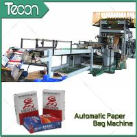 Buy cheap High Speed Automatic Chemical Kraft Paper Cement Bag Making Machine product