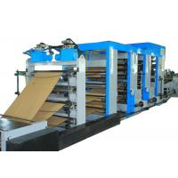 Buy cheap Energy Saving Cement Paper Bag Making Machine Flexo Printing High Output product