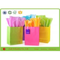 China Festival Bulk Colored Tissue Paper Solid Color Flower Wrapping Paper on sale