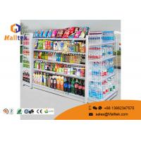 Buy cheap Adjustable Color Supermarket Gondola Shelving Strong Construction Capacity product