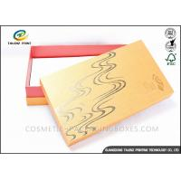 Buy cheap Bright Colored Cardboard Gift Boxes Matt Laminated Finishing 25x15x3cm Dimension from wholesalers