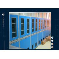 Quality Lockable Glass Door Solvent Storage Cabinet Laboratory 900*450*1800mm for sale