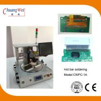 Buy cheap Extremely Short Cycle Time Hot Bar Soldering Machine With 0.25mm Pitch from wholesalers