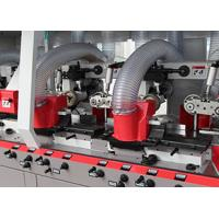 Buy cheap 8 Shaft Four Side Moulder 230 Mm Working Width Vibration Reduction Performance product