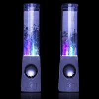 Buy cheap USB Cool Desktop Computer Speakers , Bluetooth Led Water Dancing Fountain Speakers product