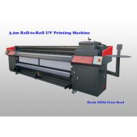 Buy cheap Flatbed Uv Roll To Roll Printer For Flexible Substrates With Ricoh Gen5 Print Head product
