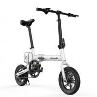 36V 250W Lightweight Folding Electric City Bike Scooter With Seat And LCD Display