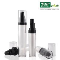 Buy cheap Black Small Airless Lotion Pump Bottles Double Layer Wall For Eye Serum product