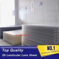 Buy cheap PS material Lenticular Sheet 120x240 25 lpi 4mm 3d lenticular sheet lenticular plates materials with lenticular effects product