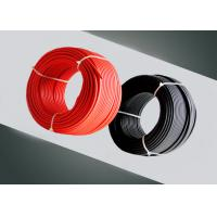 Buy cheap PV Solar Single Core Electrical Cable / Solar Cable 4mm2 2pfg1169 Approved product