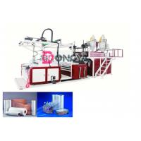 Buy cheap Fast Speed Automatic Stretch Film Rewinding Machine / Cling Film Extruder 600 - 1000mm Width product