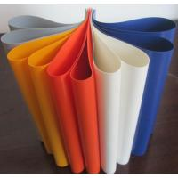 Buy cheap Durable Colorful PVC Coated Tarpaulin Polyester Fabric In Roll 1000DX1000D 20X20 from wholesalers