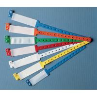 Buy cheap Disposable Medical Consumables Hospital Patient ID Wristbands PVC Plastic Material from wholesalers