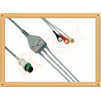Buy cheap Mindray ECG Patient Cable 12 Pin For T5 and T8 3 Leads Snap AHA product