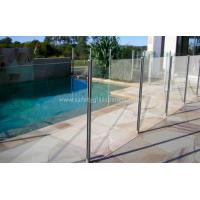 Buy cheap Glaverbel Annealed Glass Pool Fencing Building With 19mm Glass Cabinets product