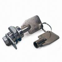 Buy cheap Lever Switch Locks with Brass Key in Nickel Plating and 20-combination Capacity product