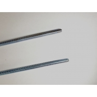 Buy cheap Class 4.8 DIN 975 M18 Zinc Plated Carbon Steel Threaded Rod product
