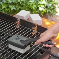 Buy cheap barbecue grill cleaning stone with handle (BBQ grillstone) product