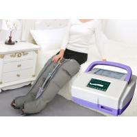 Buy cheap Sequential Inflatable Leg Massager , Blood Circulation Long Boot Air Massager product